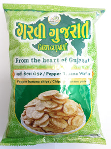 Garvi Gujarat Pepper Banana Chips 180g