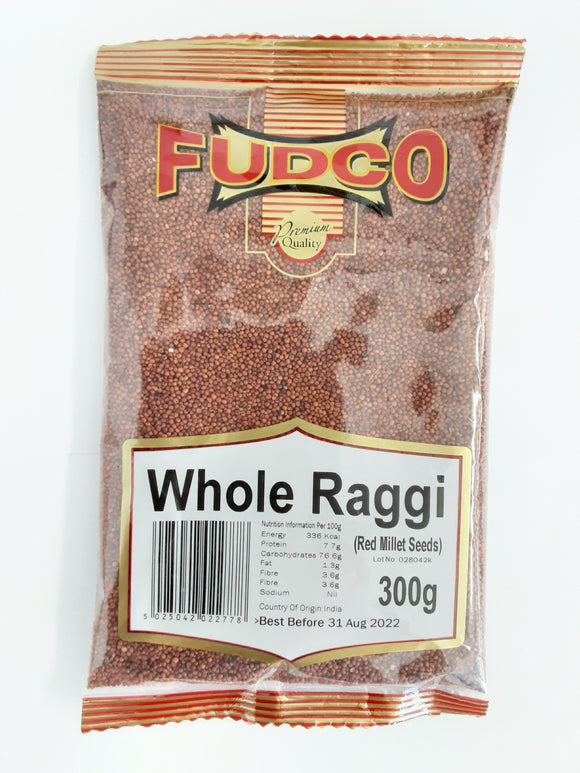 Fudco Whole Raggi Red Millet Seeds 300g