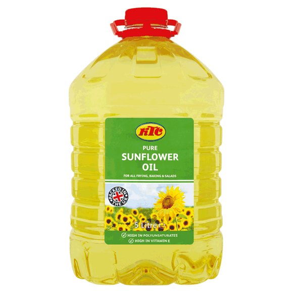 KTC Sunflower Oil 5 Ltr - ExoticEstore