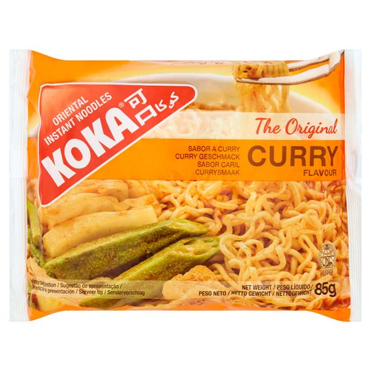 Koka Curry Noodles 85g - ExoticEstore