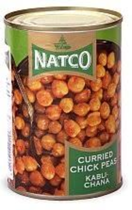 Natco Curried Chick Peas 400g - ExoticEstore