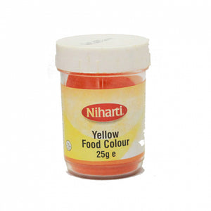 Niharti Food Colouring Yellow 25g - ExoticEstore