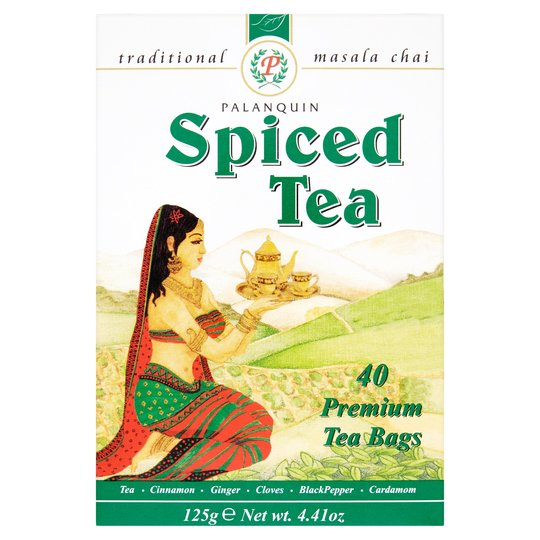 Palanquin Masala Teabags 40 bags - ExoticEstore