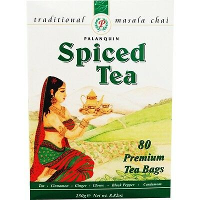 Palanquin Masala Teabags 80 bags - ExoticEstore