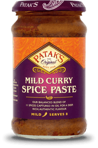 Patak's Mild Curry Spice Paste 283g - ExoticEstore