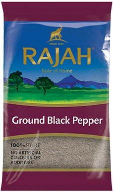 Rajah Black Pepper Ground 400g - ExoticEstore