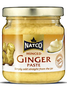 Natco Minced Ginger Paste 190g - ExoticEstore
