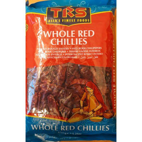 TRS Red Chillies Whole 150g