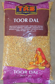TRS Toor Dall Plain 2kg - ExoticEstore