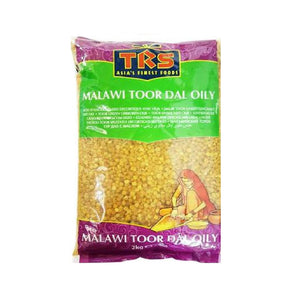 TRS Toor Dall Oily (Malawi) 2kg - ExoticEstore