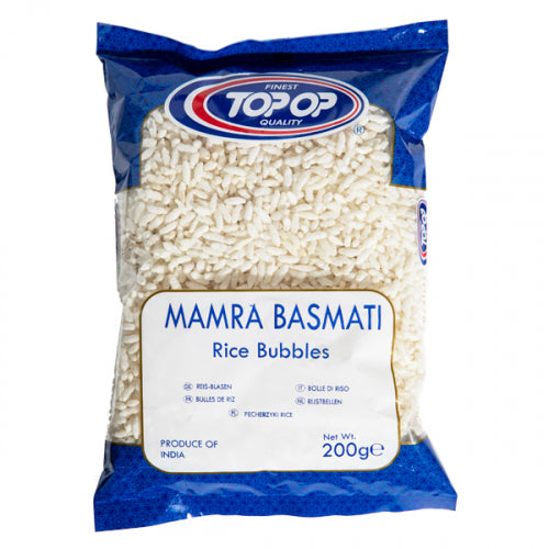 Top Op Premium Mamra Rice Bubbles - 200g - ExoticEstore
