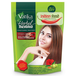 Vatika Herbal Henna With Fragrant Sandalwood & Rose 200g