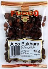Fudco Aloo Bukhara Dry Plums (with pip) 300g - ExoticEstore