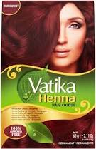 Vatika Henna Hair Colour Bugandy 60g - ExoticEstore