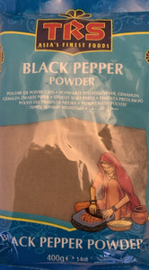 TRS Black Pepper Powder - 400g - ExoticEstore