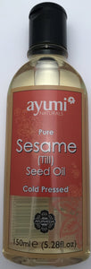 Ayumi Pure Sesame Seed Oil (Till) - 150ml - ExoticEstore