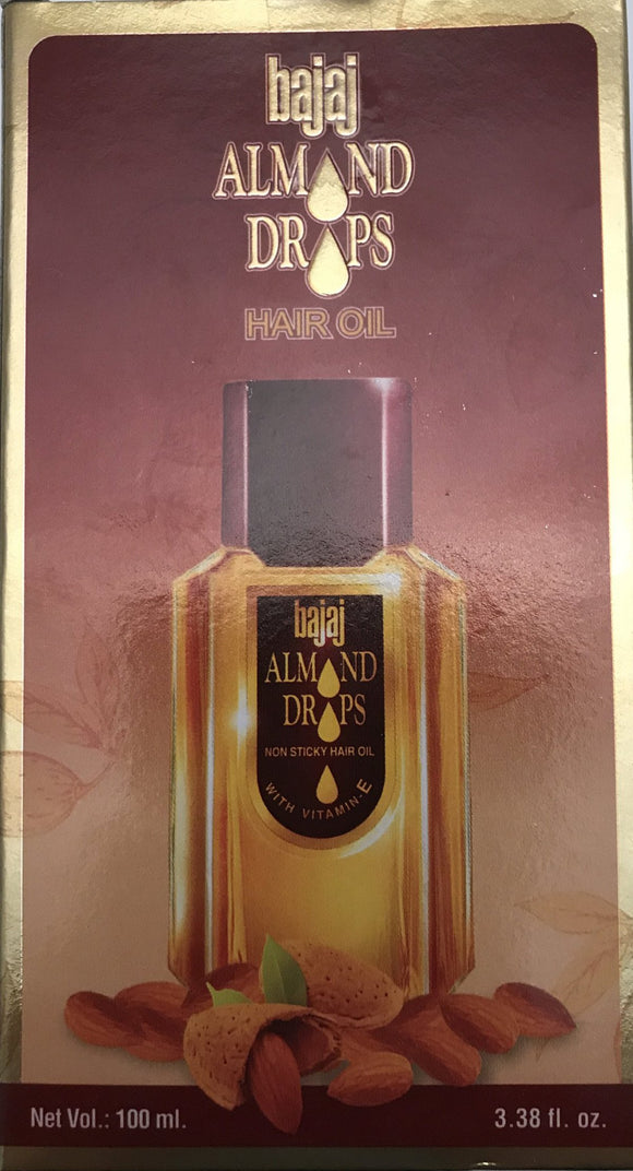 Bajaj Almond Drops Hair Oil - 100ml - ExoticEstore