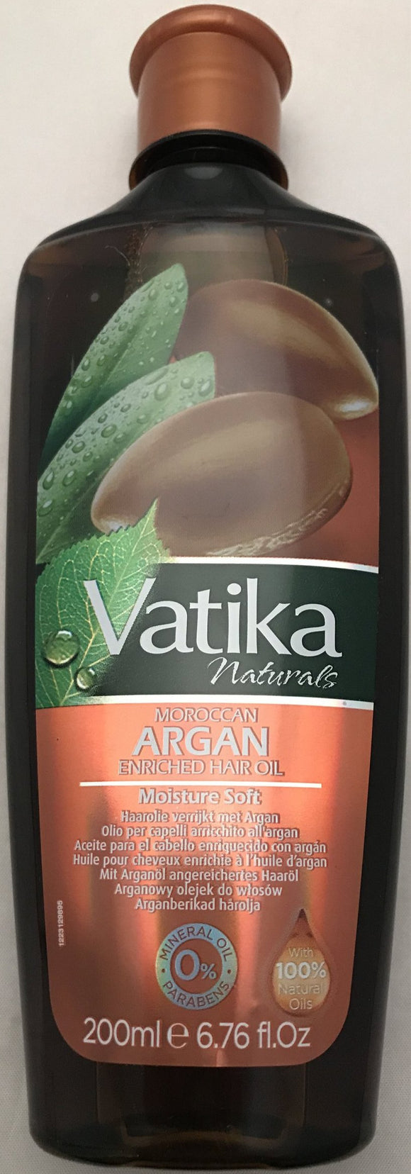 Vatika Moroccan Argan Hair Oil - 200ml - ExoticEstore