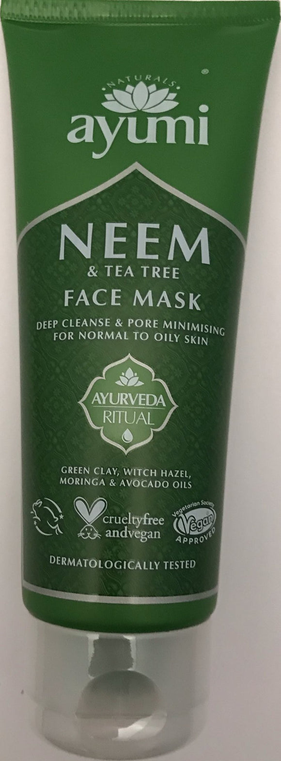 Ayumi Neem & Tea Tree Face mask 100ml - ExoticEstore