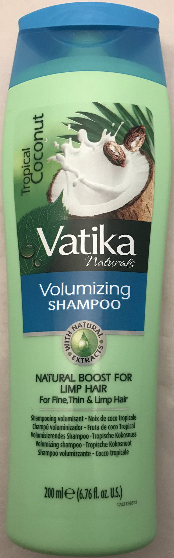 Vatika Volumizing Shampoo Tropical Coconut 200ml - ExoticEstore