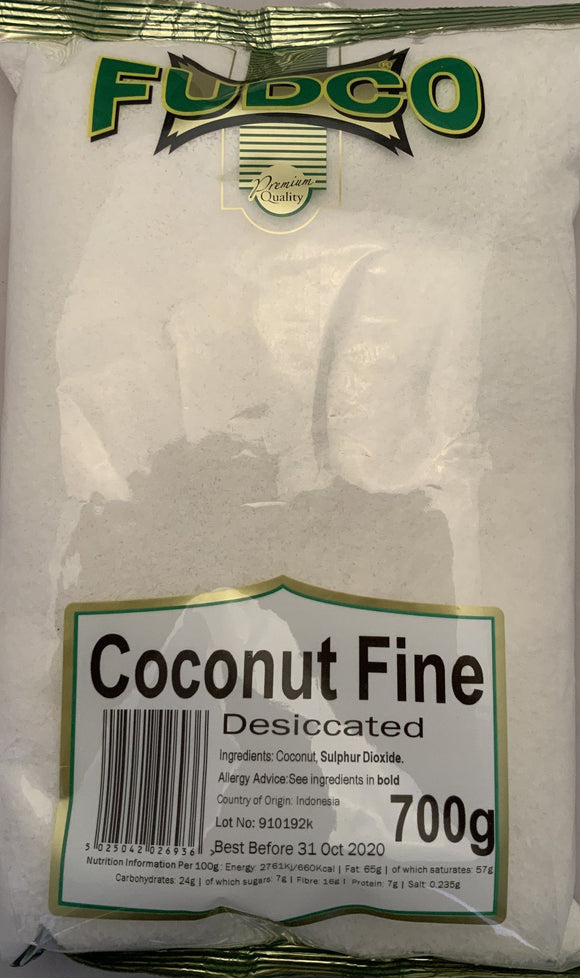 Fudco Desicated Coconut  Fine - 700g - ExoticEstore