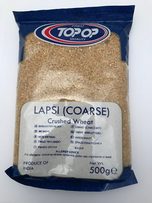 Top Op Lapsi Coarse Crushed Wheat 500g - ExoticEstore