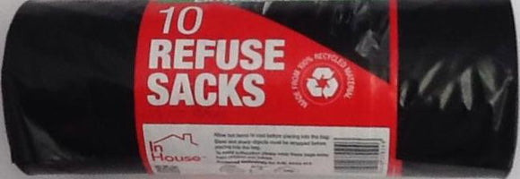 In House 10 Refuse Sacks - ExoticEstore