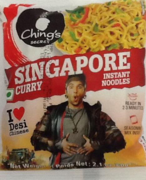 Chings Instant Noodles Singapore Curry 60g - ExoticEstore
