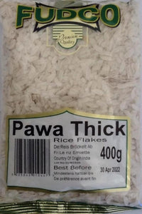 Fudco Pawa Thick Rice Flakes 400g - ExoticEstore