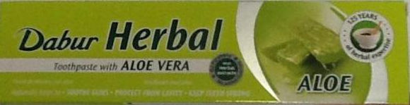 Dabur Herbal Toothpaste Aloe Vera 100ml - ExoticEstore