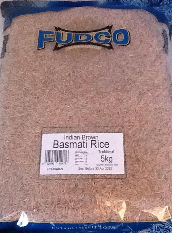 Fudco Indian Brown Basmati 5kg - ExoticEstore
