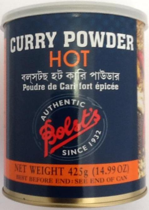 Bolsts Curry Powder Hot 425g - ExoticEstore