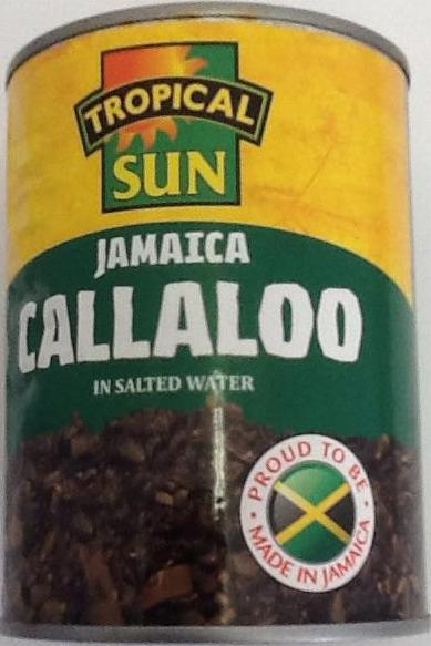 Tropical Jamaica Callaloo In Salted Water 540g - ExoticEstore