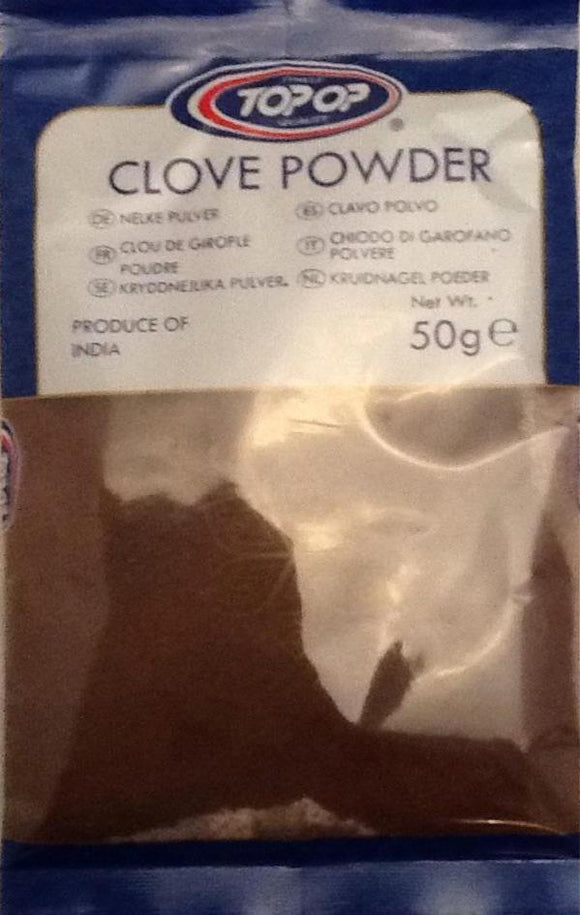 Top Op Clove Powder 50g - ExoticEstore
