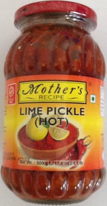 Mothers Lime Pickle Hot 500g - ExoticEstore