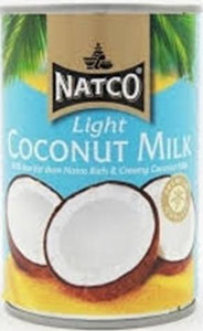 Natco Coconut Milk Light 400g - ExoticEstore