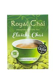 Royal Instant Cardamom Chai (Tea) Sweetened 10 Serving 220g - ExoticEstore