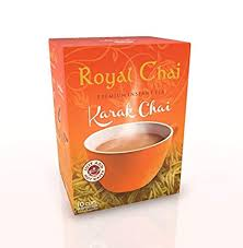Royal Instant Karak Chai (Tea) Unsweetened 10 Servings 140g - ExoticEstore
