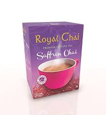 Royal Instant Saffron Sweetened Chai (Tea) 10 Serving 200g - ExoticEstore
