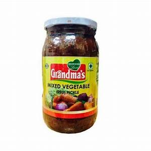 Grandmas Pickle Mixed Vegetable Red 400g