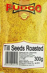 Fudco Till Sesame Seeds Roasted 300g - ExoticEstore