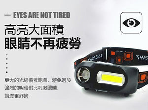 COB SUPER LED HEAD LIGHT 戶外 COB LED 頭燈