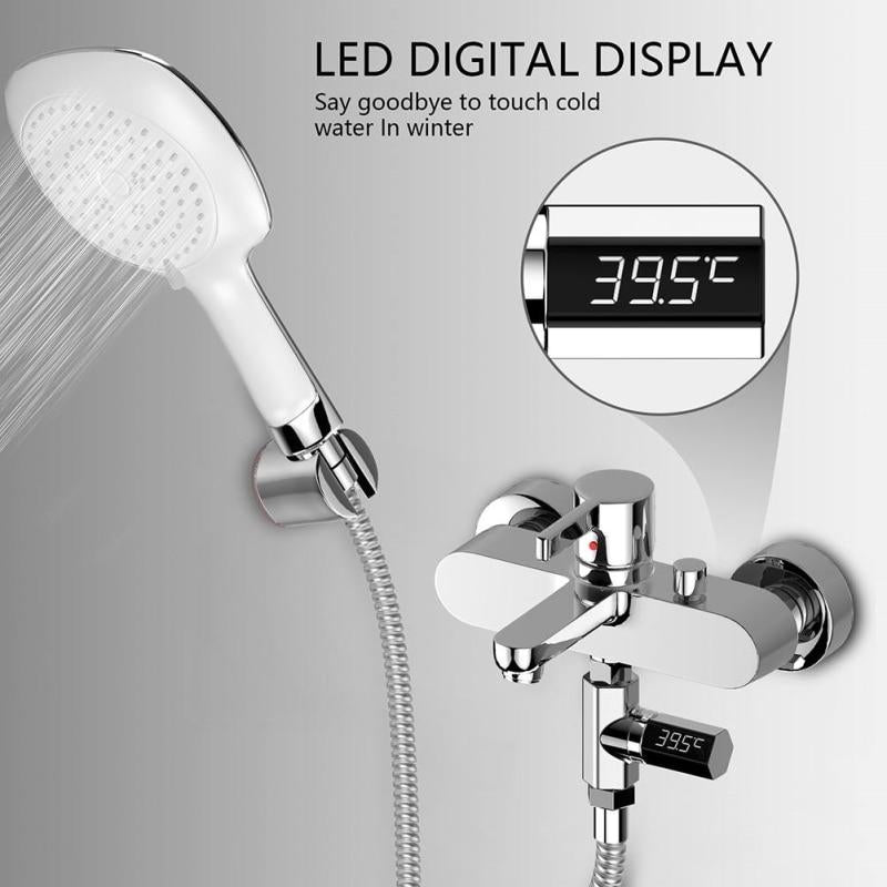 Shower LED Display Thermometer
