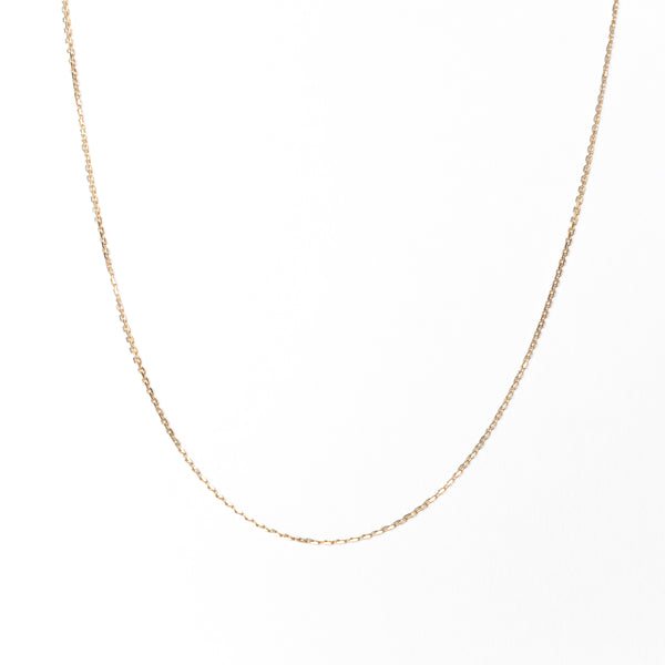 Everyday Medium Cable Chain Necklace, Solid 18k Gold (5275514699820)
