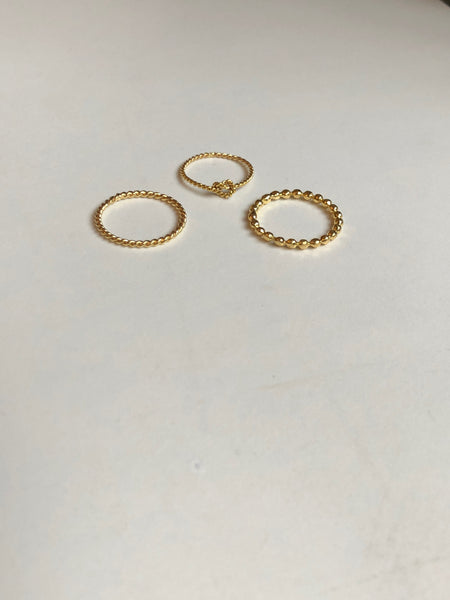 Twist Ring, Solid 14k Gold (5068202180652)
