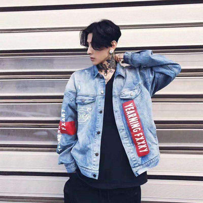 Jauss Denim Jacket - IkigaiSoul