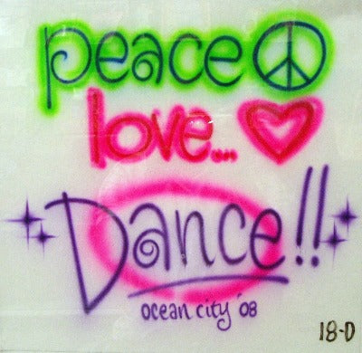 18D peace love Dance
