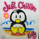 "385 Penguin ""Just Chillin"""