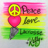 432lax Peace Love Lacrosse