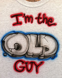 I'm the old guy